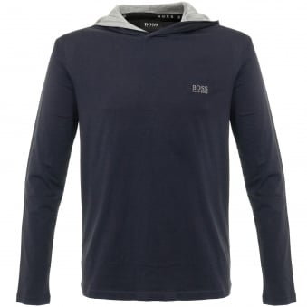 Hugo Boss LS Shirt Hooded Dark Blue Sweatshirt 50321771