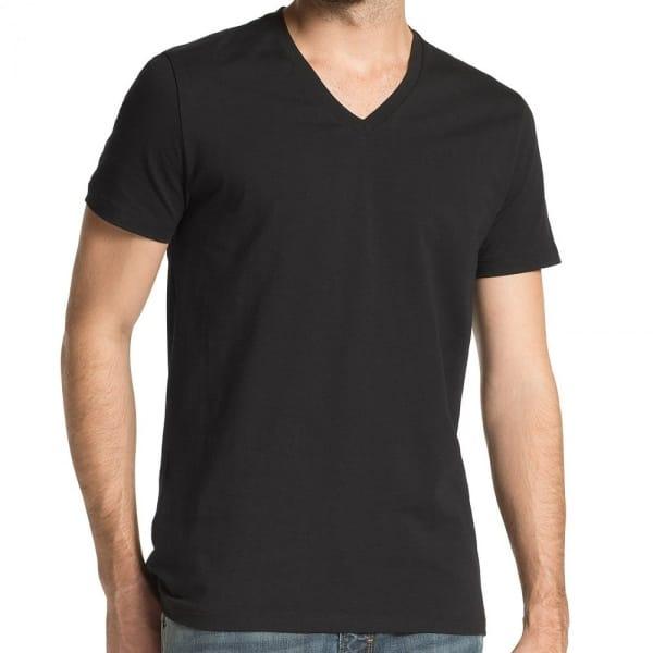Boss Orange Black V Neck T Shirt In A Two Pack 50252683