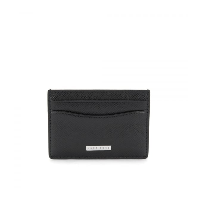 BOSS Hugo Boss Hugo Boss Signature _S Black Card Holder 50311746