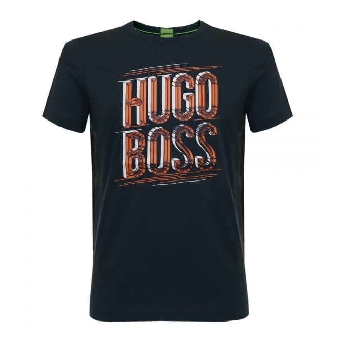BOSS Green Hugo Boss Tee 2 Navy T-Shirt 50318905