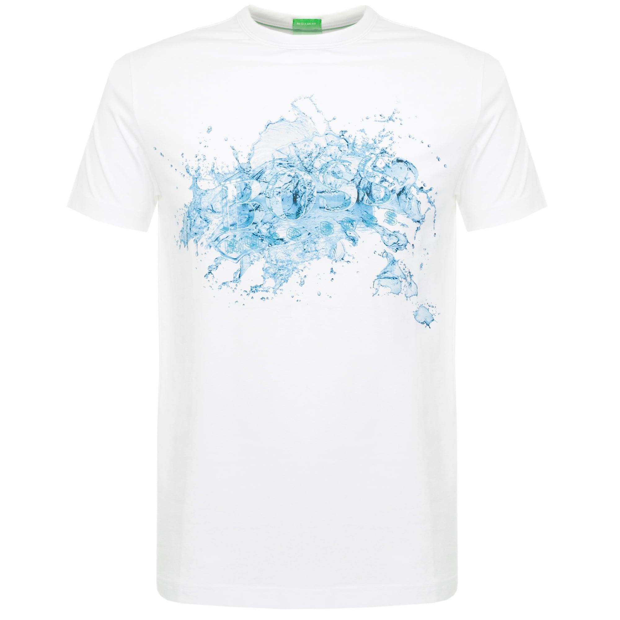 86af1cecf Hugo Boss Tee 8 White T-Shirt 50329420