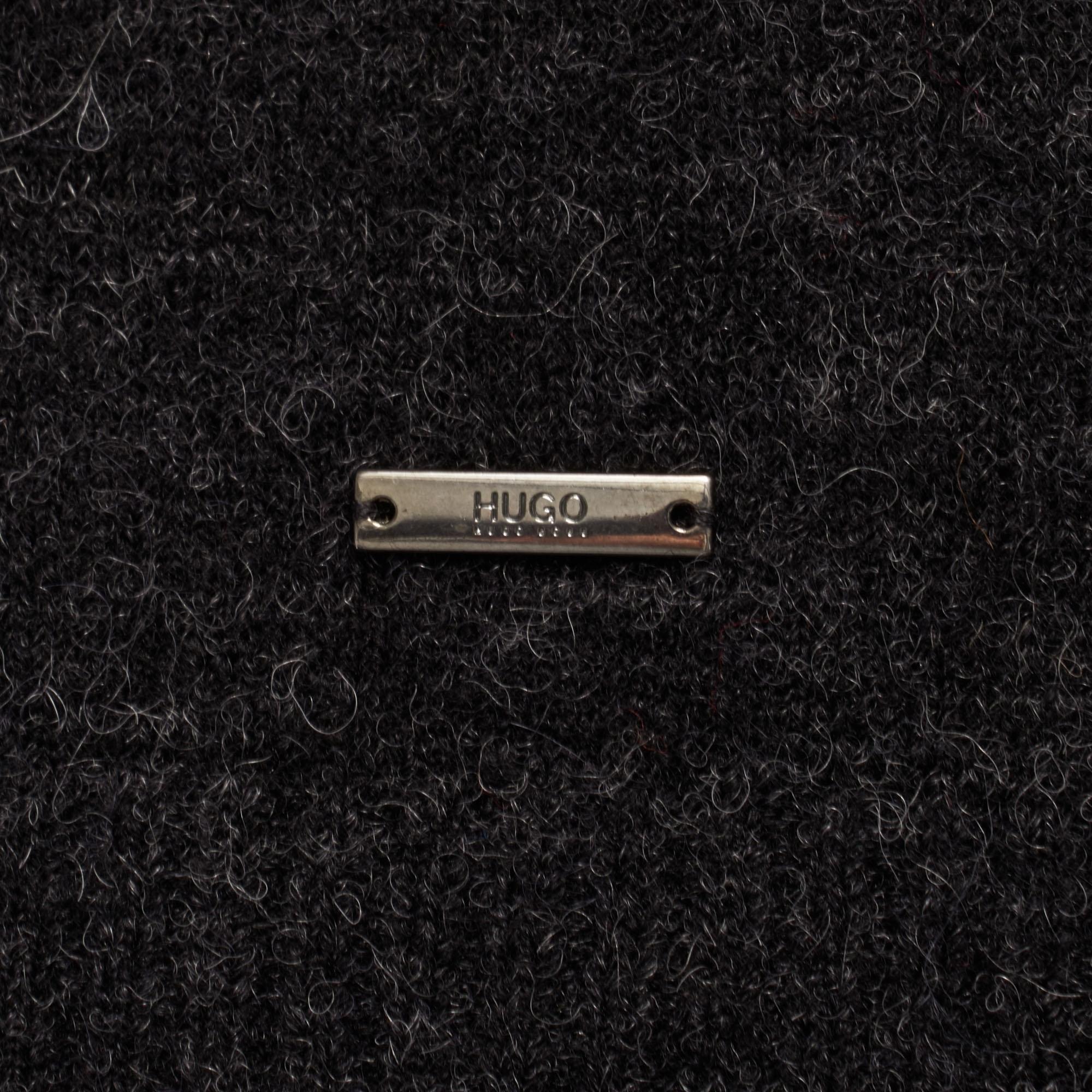 015 Jumper Knitted Hugo 50391761 Charcoal Seridon wpn8q1