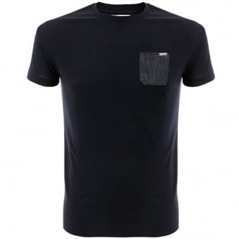 Iceberg Pocket Navy T-Shirt 4017-6689