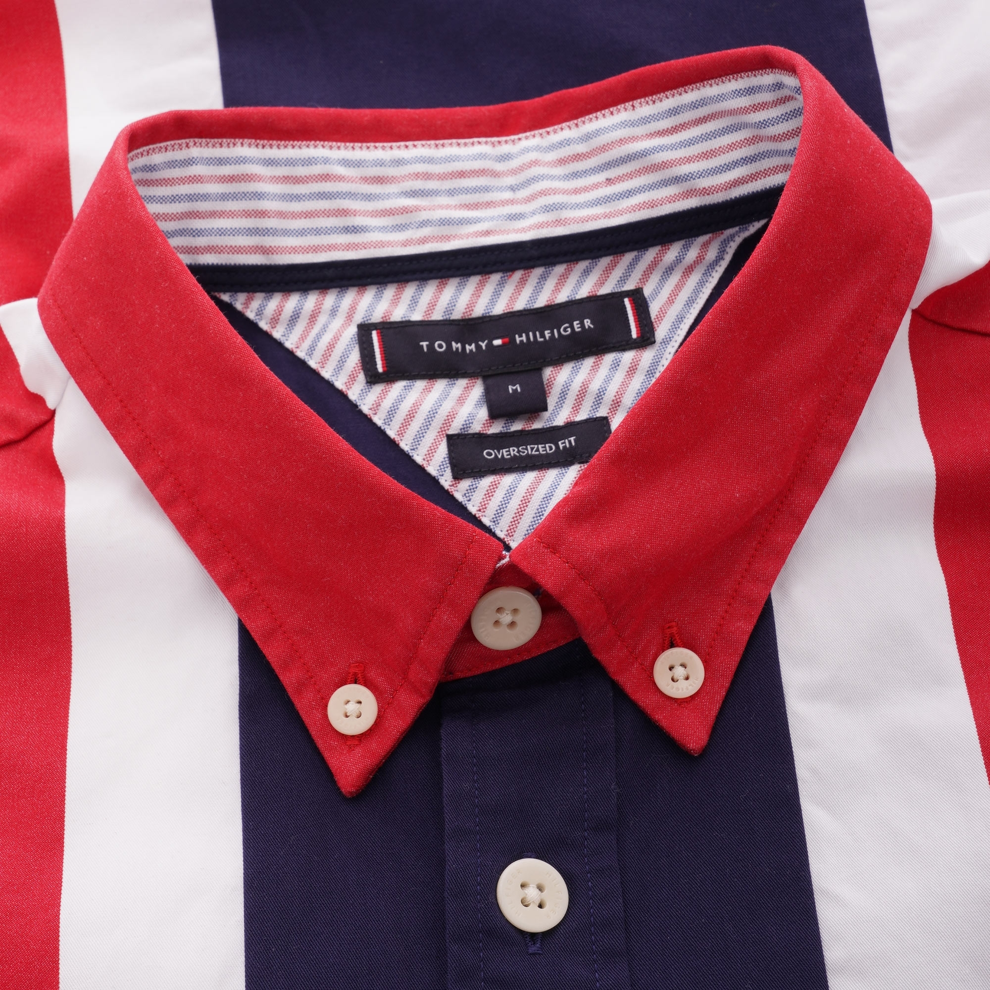 cbc9dc0f Tommy Hilfiger Icon Panelled Shirt   Peacoat   MWOMW10104