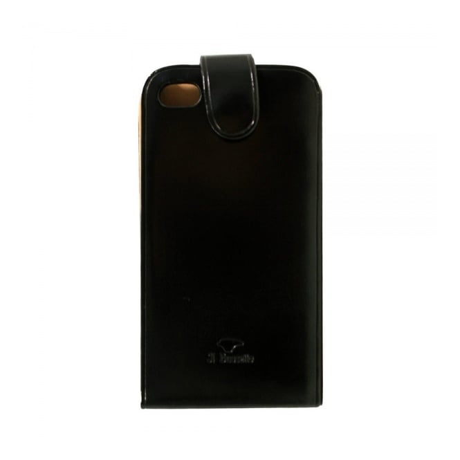 Il Bussetto iPhone Black Leather Case 14 021 1