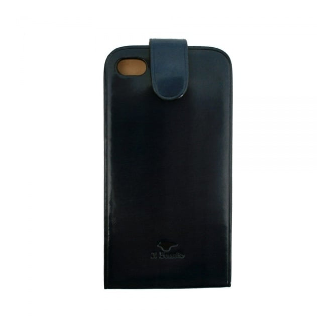 Il Bussetto iPhone Leather case blue 14 021 28
