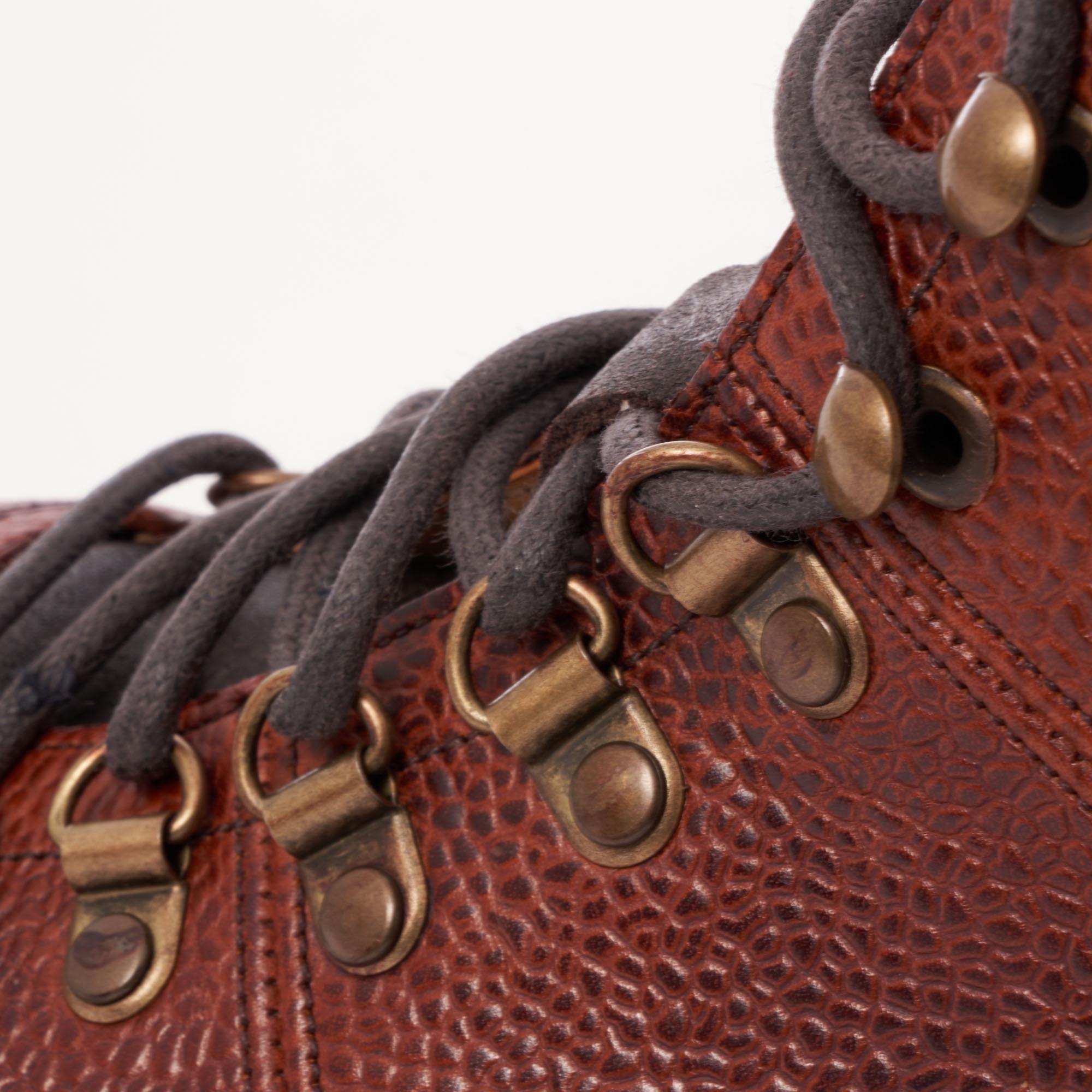 e25e087578a Ingleborough Hiker Boot - Mahogany Grain Leather