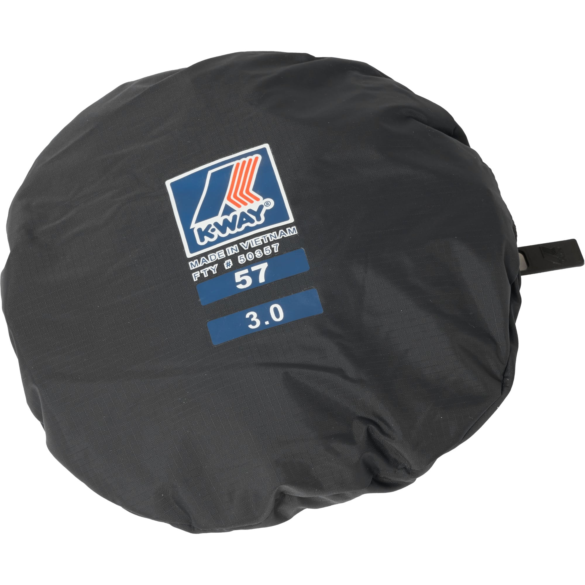 d1cd8149b Black Le Vrai Pascal 3.0 Packable Bucket Hat