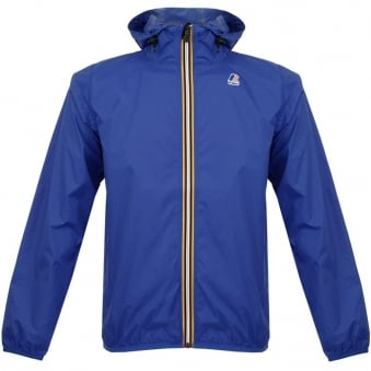 K-Way Claude Le Vrai 3.0 Royal Blue Pac-a-Mac Jacket 618