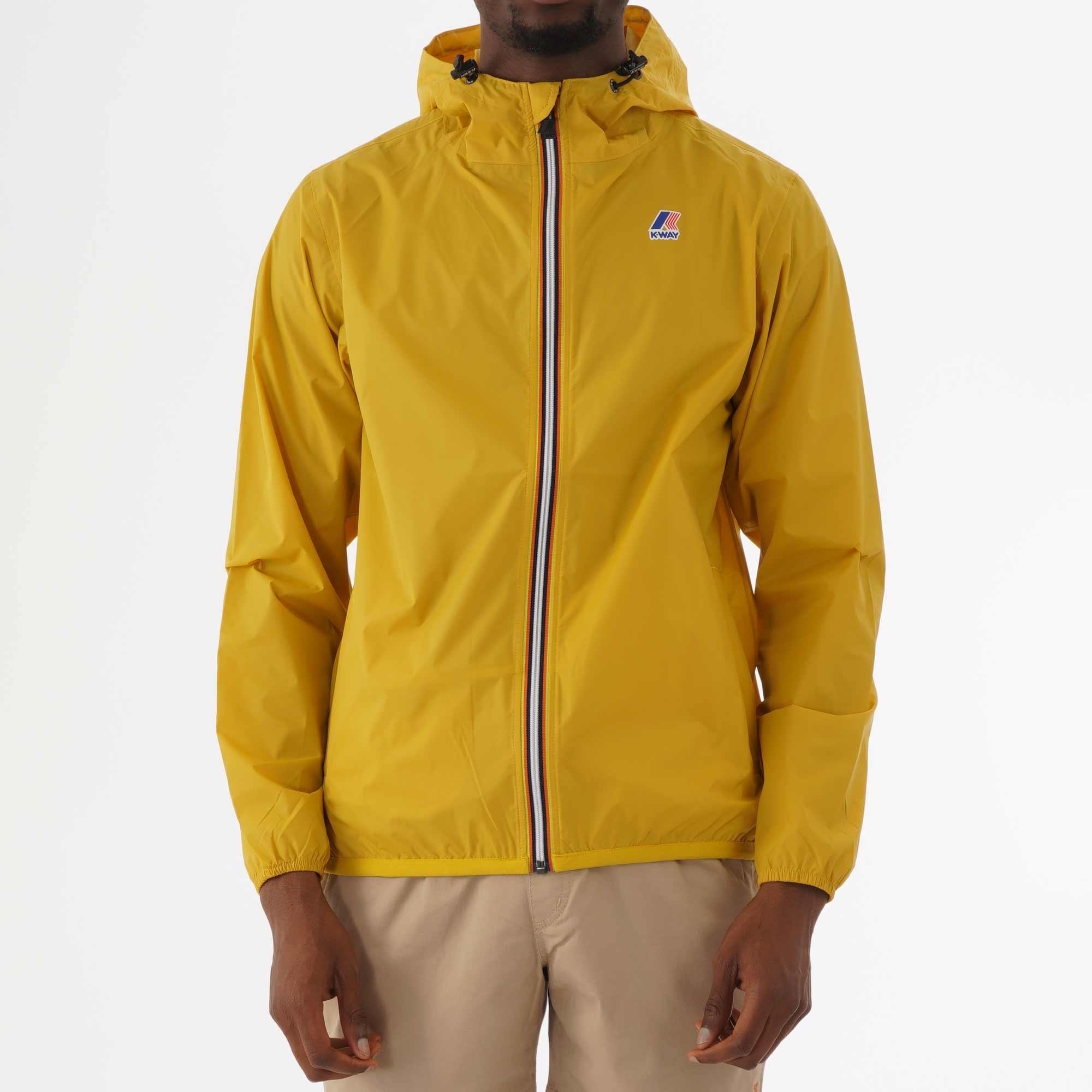 quality design 29c7f 1df08 K-Way K-Way Le vrai Claude 3.0 Yellow Mustard Jacket