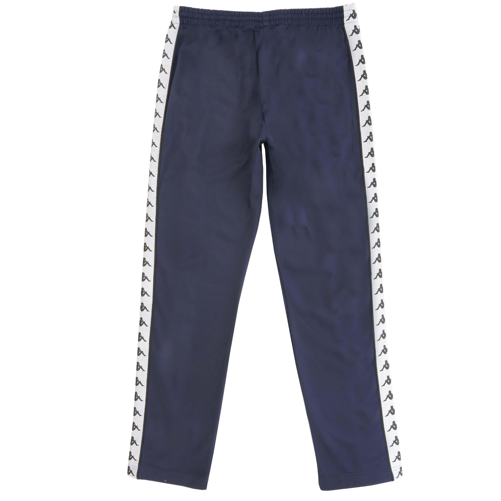 bd9870b9 Kappa 222 Banda Astoria Track Pants   Blue & Black   301EFS0-C94