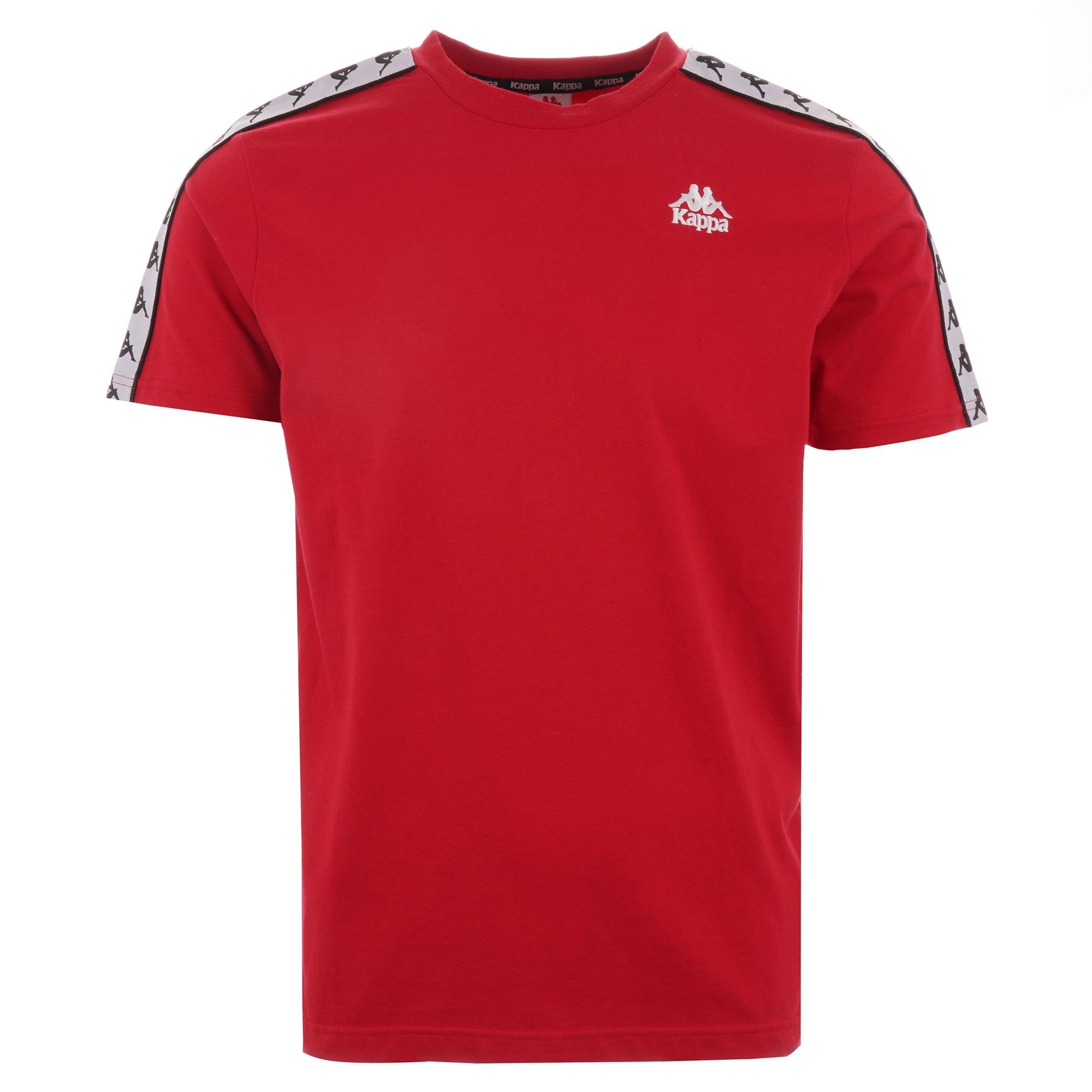 apretón Escarchado Agotamiento  Kappa 222 Banda Charlton T-Shirt | Red | 304KPR0