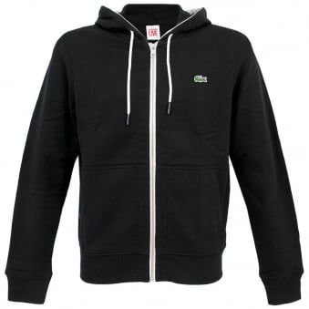 Lacoste<br /> Live Ultra Slim Fit Hooded Sweatshirt Noir SH3745