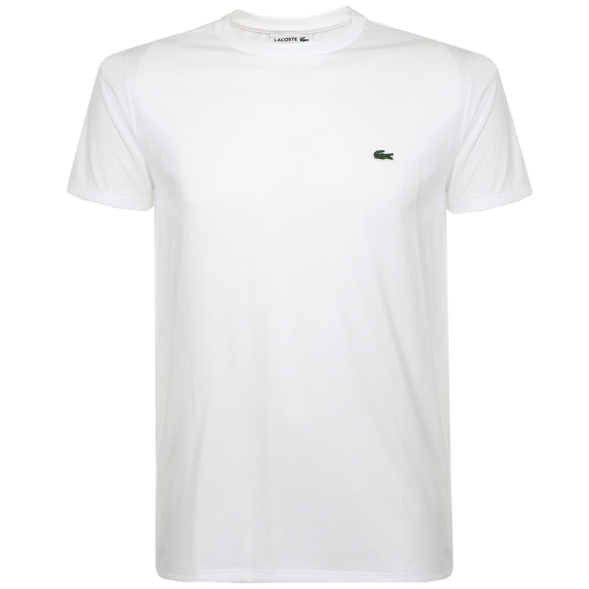 78f82a9ce072cd Lacoste Pima Cotton White T-Shirt TH670900001