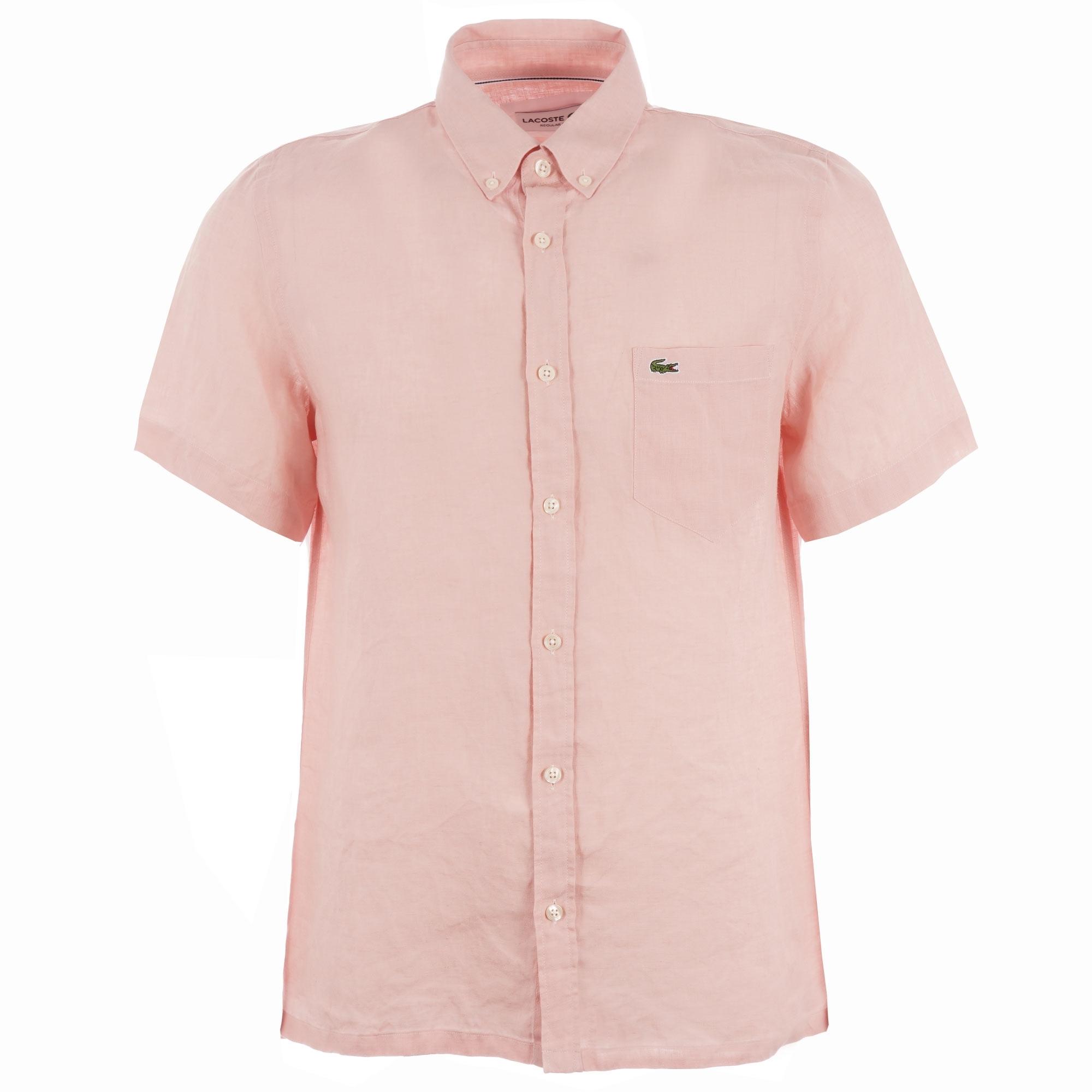 Short Sleeve Linen Shirt - Nidius