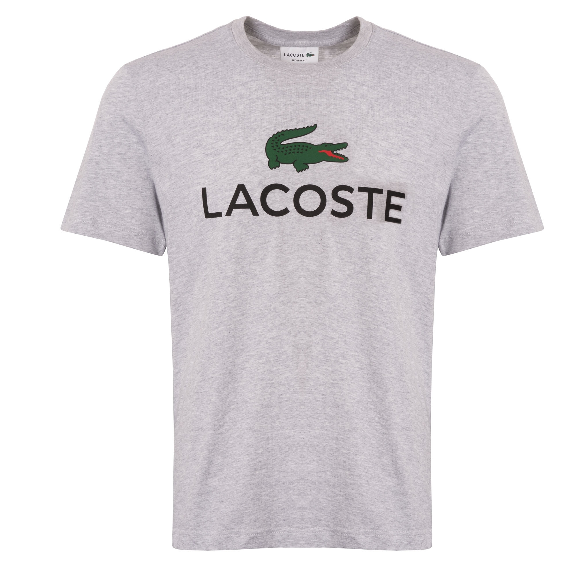 66d7c22a5 Lacoste Large Logo T-Shirt | Silver Chine | TH0603-CCA