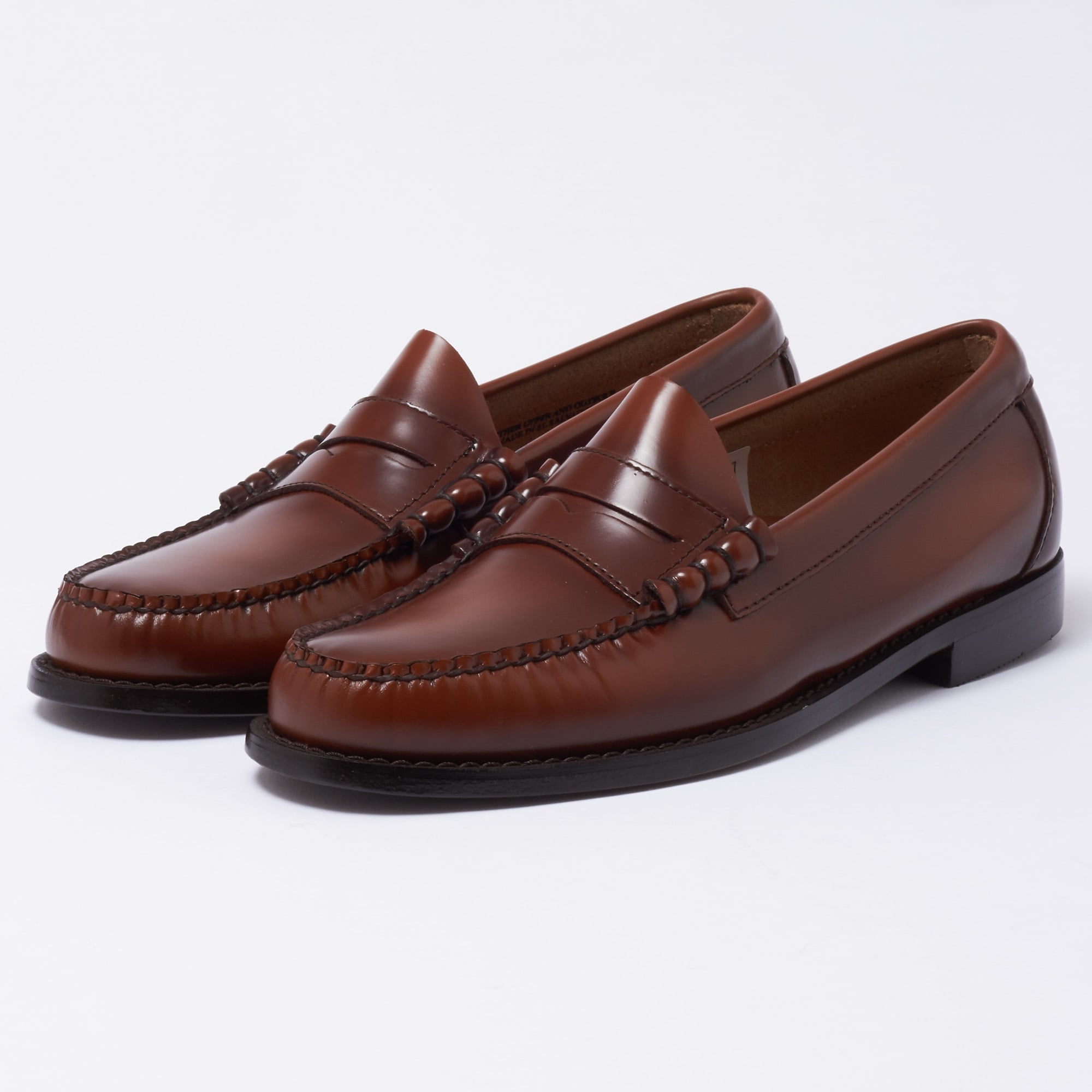 Bass Weejuns Larson Moc Penny Loafer | Mid Brown | BA11010033
