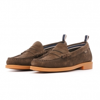 f2d59415d0f Larson Suede - Dark Brown · Bass Weejuns ...