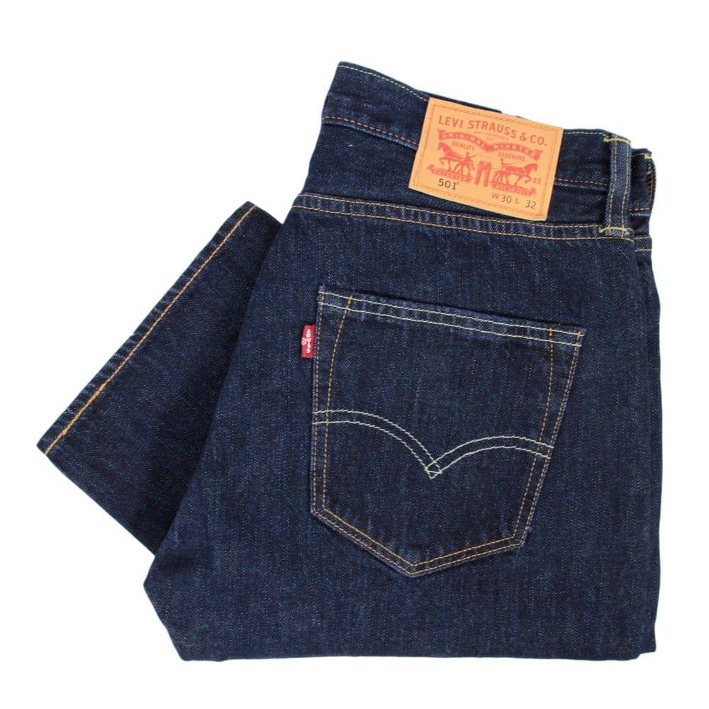 Mens Levis 505 Regular Fit Jeans