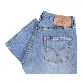 Levi's 501 Stonewash Blue Jeans 005010113