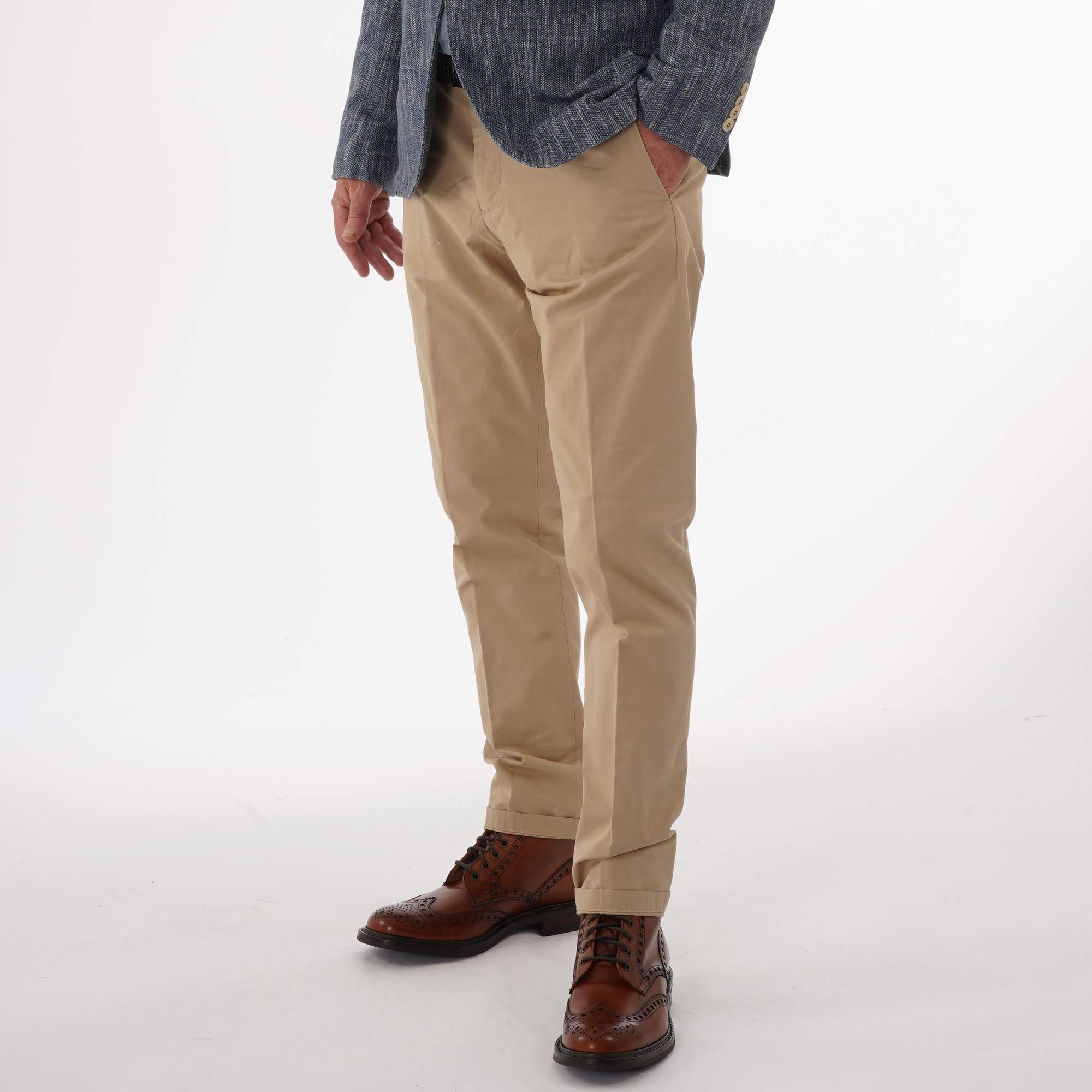 Levi S 502 True Chino Trousers Harvest Gold Wonderknit 521630004