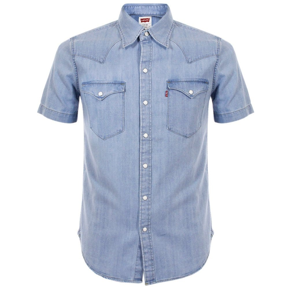 Levi 39 S Online Shop Barstow Short Sleeve Denim Shirt
