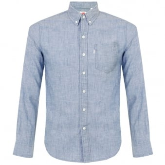 Levi's Classic One Pocket Light Indigo Shirt 19586-0014