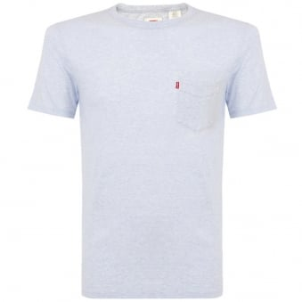 Levi's Pocket Cashmere Blue T-Shirt 15798-0047