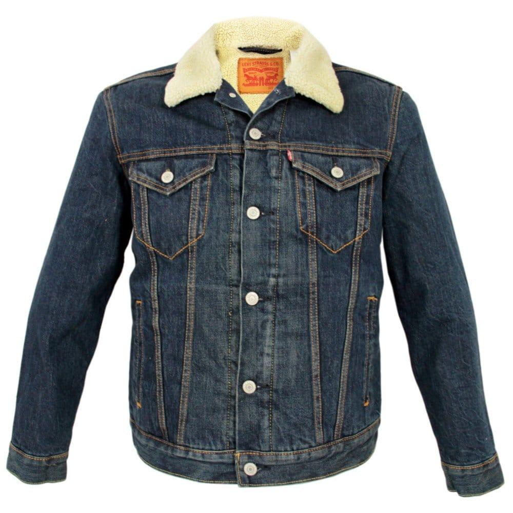 levis online shop sherpa trucker jacket 70598 0025