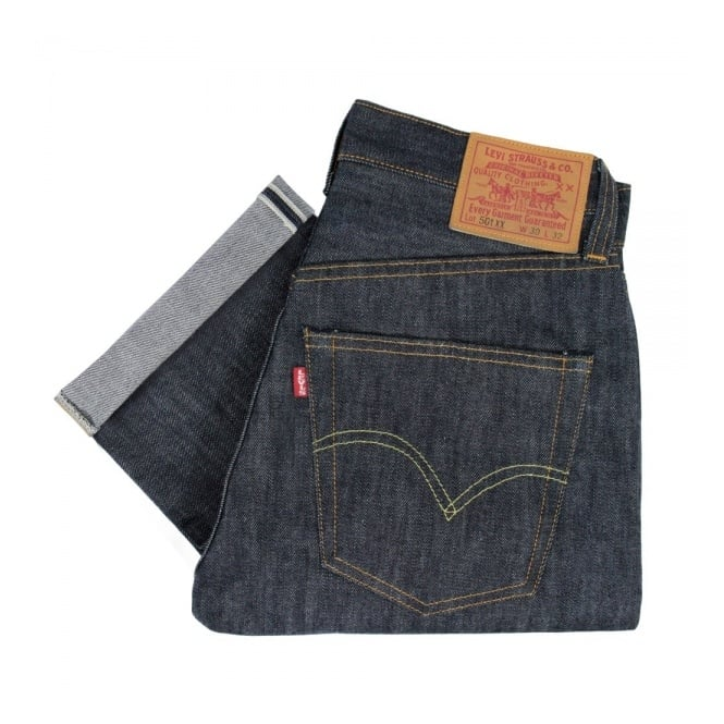 f437f070 Levis Vintage 1947 Rigid Shrink to Fit 501 XX Unwashed Selvage Denim Jeans  47501-0167