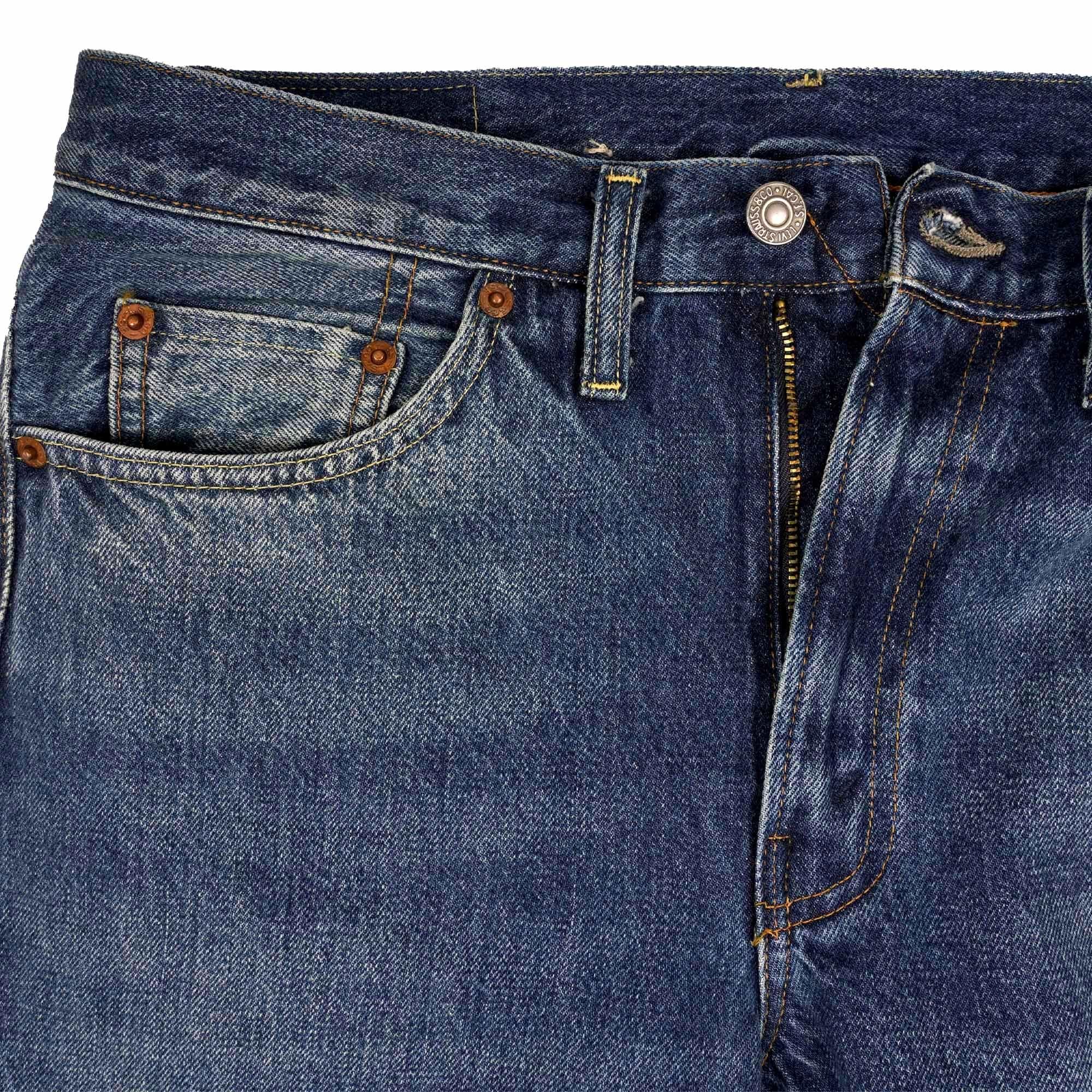 d9a9b041ce1 Levi s Vintage 1954 501z Selvedge Jeans