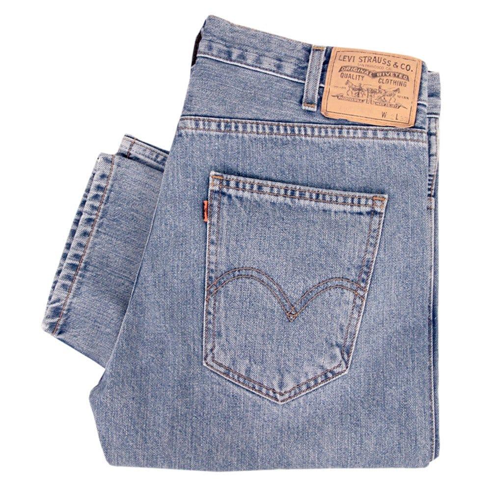 levis vintage 1960s 606 slim stone wash denim jeans 30605 0037. Black Bedroom Furniture Sets. Home Design Ideas