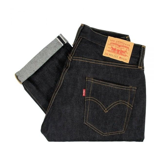 8b6897712c5 Levis Vintage 1962 551 ZXX Selvedge Denim Jeans