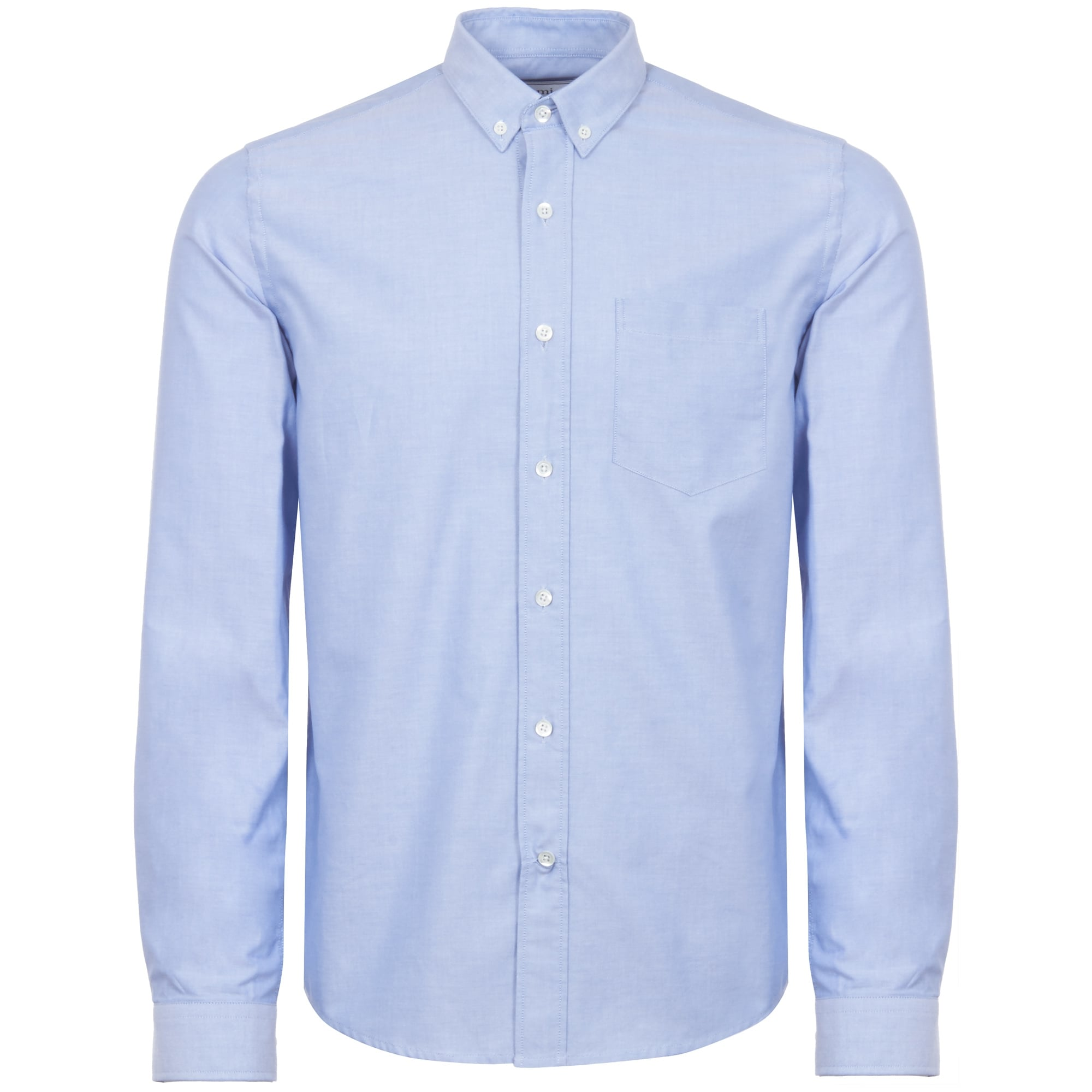 462a3399c9c AMI Button down OXFORD shirt - Sky blue BSRC03-459