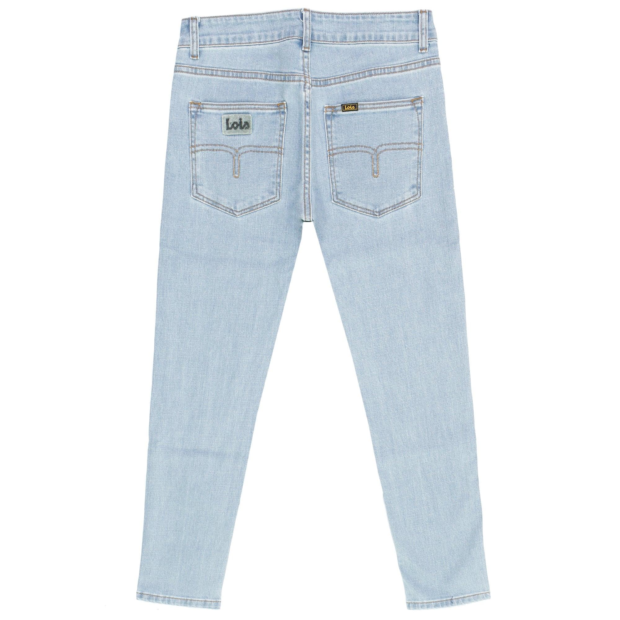 Flecha bolita Multa  Lois Jeans | Sky Bleach Denim Jeans at Stuarts London