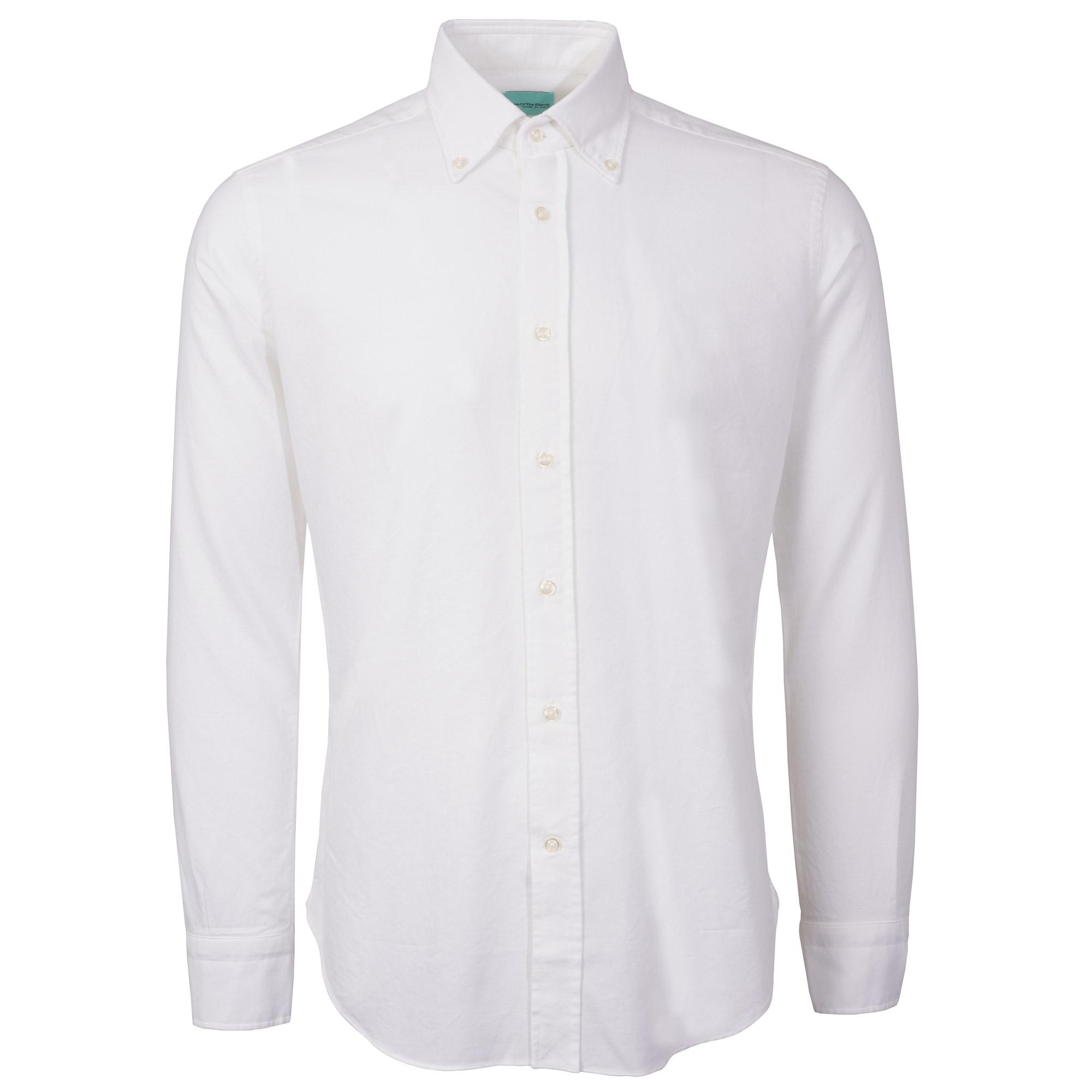 68133108ff2438 None Of The Above Oxford Shirt | White | NOTO-WHT