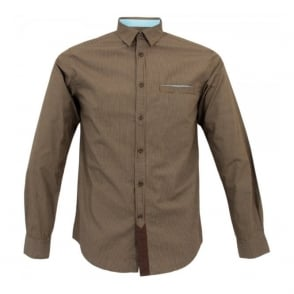 Merc London Sylvester Brown Shirt 1514111