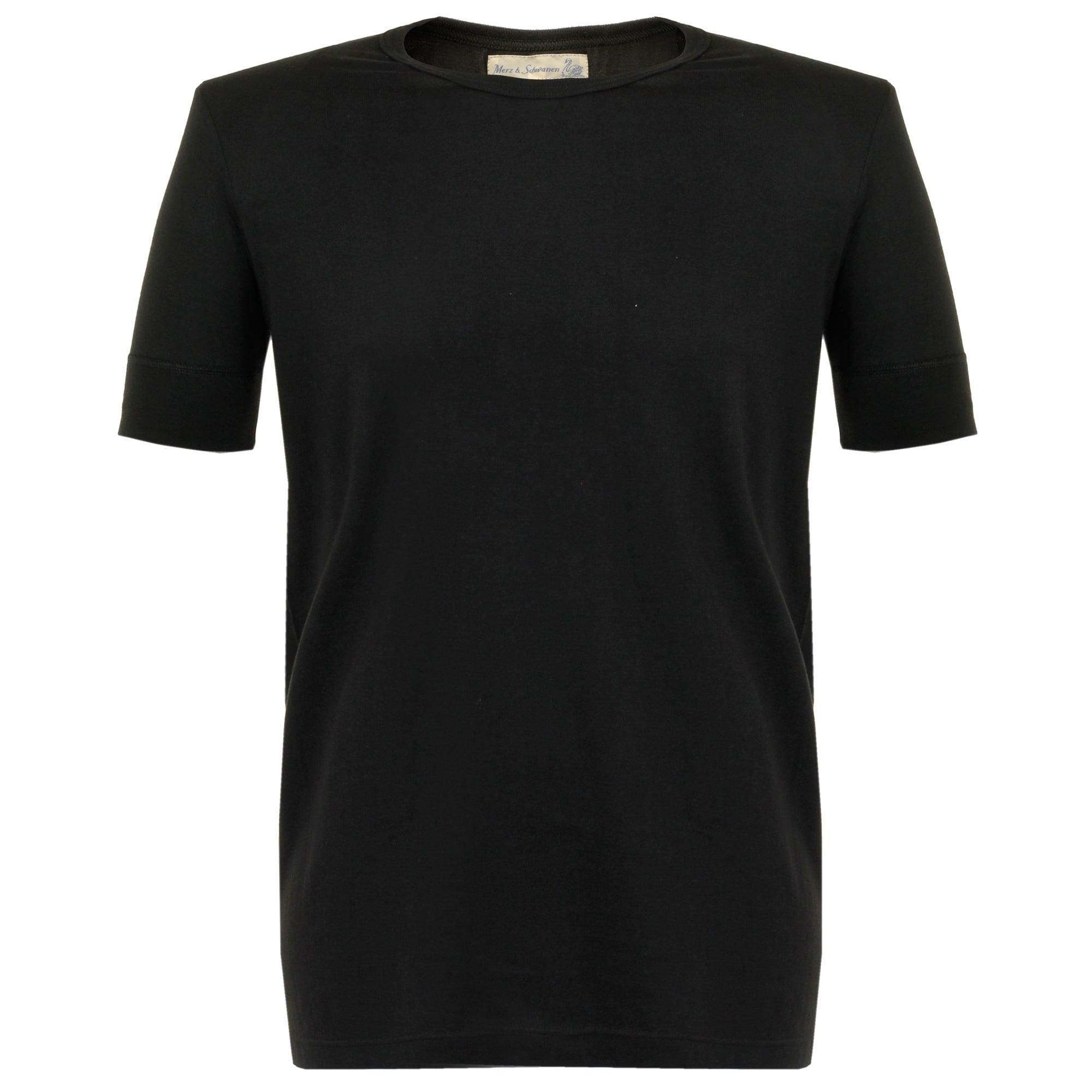 Merz B. Schwanen 1960  039 s Army Black T-Shirt 52ae7df87bc