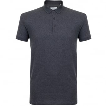 Minimum Emerald Charcoal Melange Polo Shirt 11507052