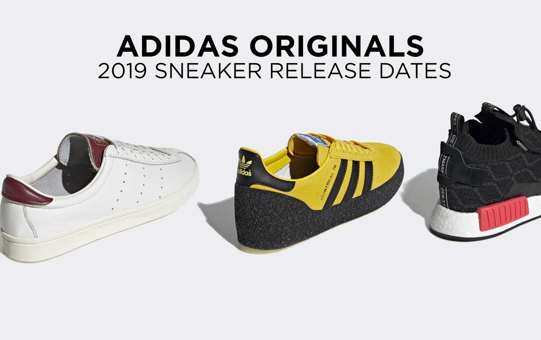 Adidas Sneaker Release Dates 2019 | Stuarts London