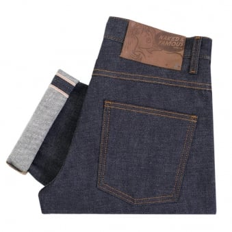 Naked and Famous Slim Guy Dirty Fade Selvedge Denim 018532