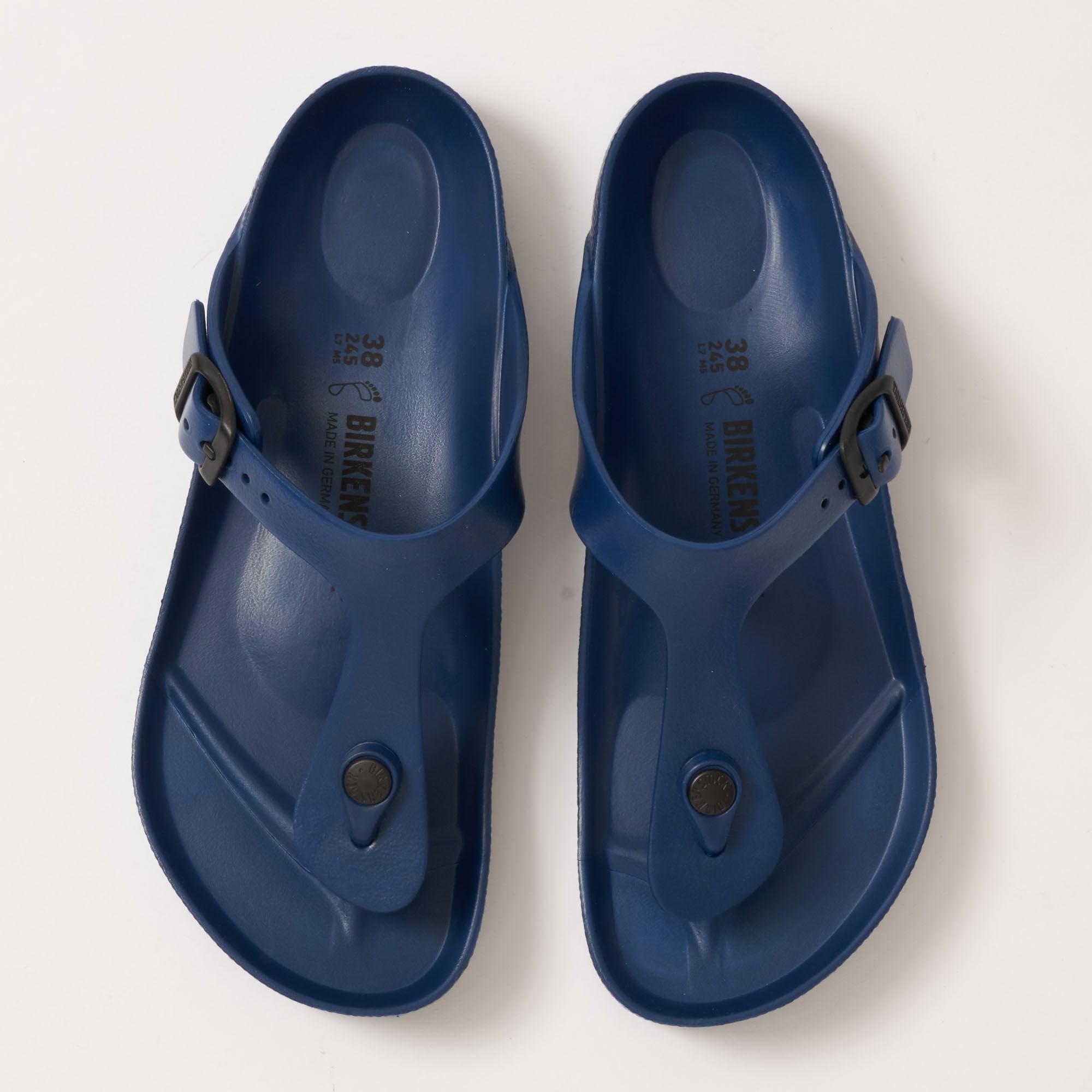 b877a76ac Navy Gizeh EVA Sandals