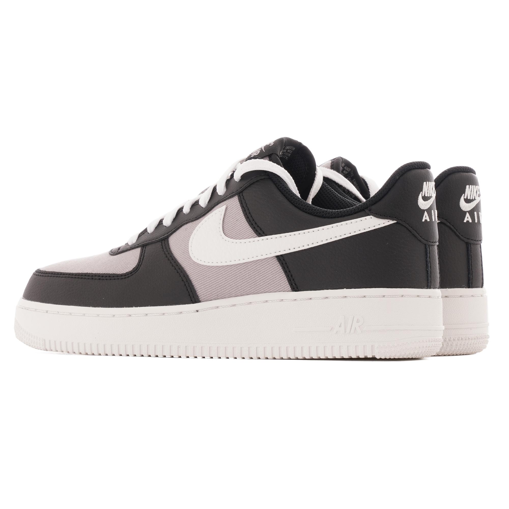 nike air force black grey