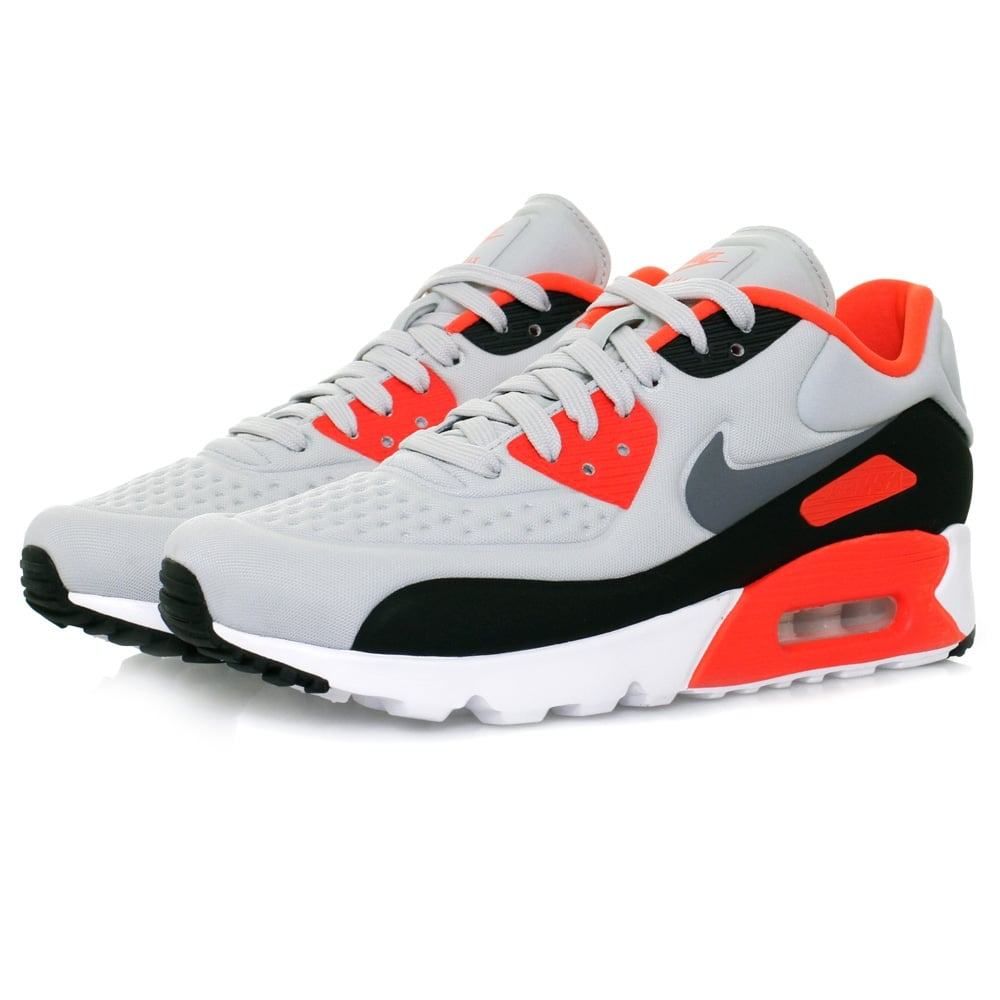 nike air max 90 ultra se platinum grey shoe. Black Bedroom Furniture Sets. Home Design Ideas