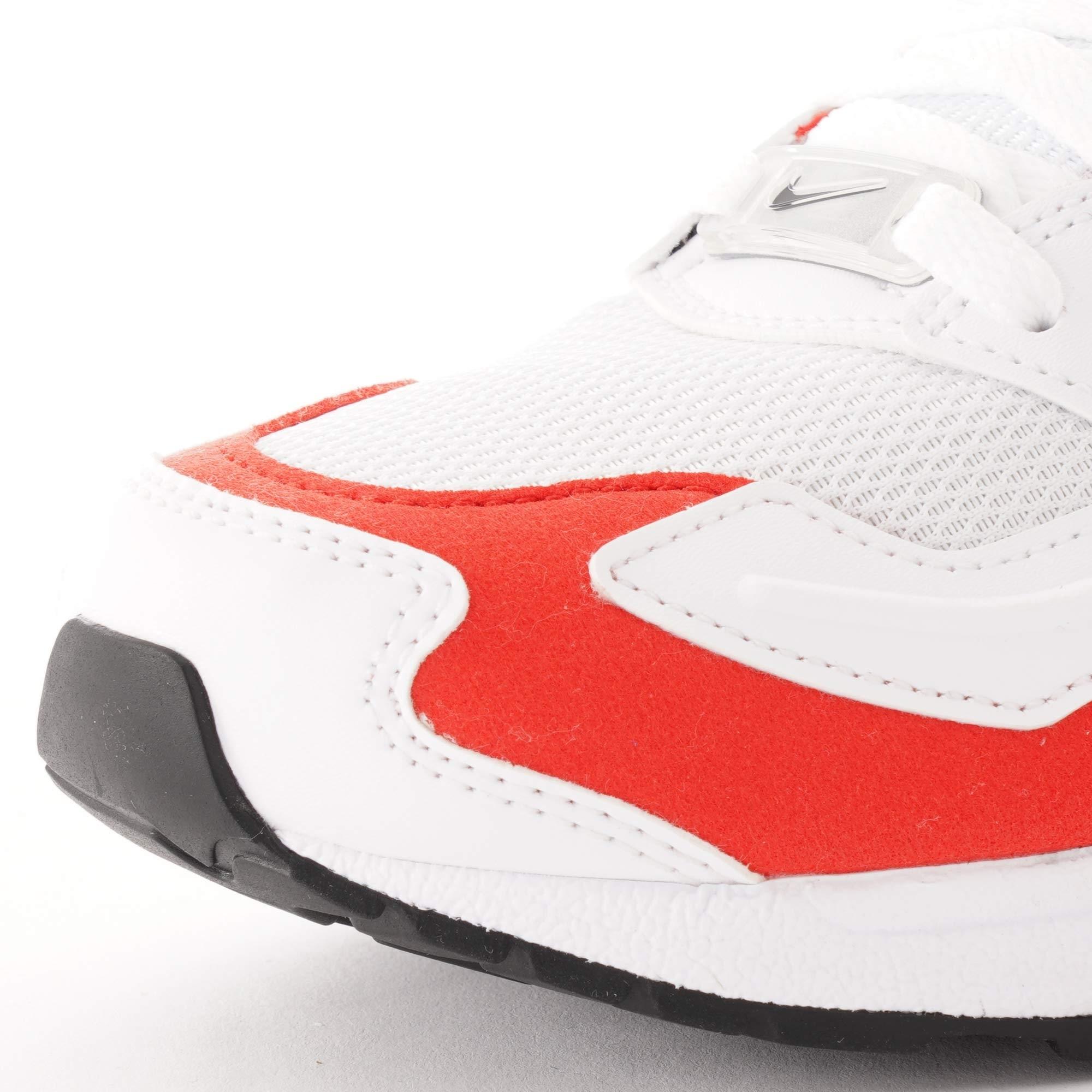 Air Max2 Light White, Black & Habanero Red
