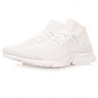 Nike Air Presto Flyknit Ultra White Shoes 835570 100