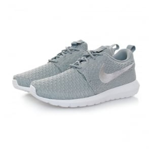 Nike Roshe NM Flyknit Wolf Grey Shoe 677243 012