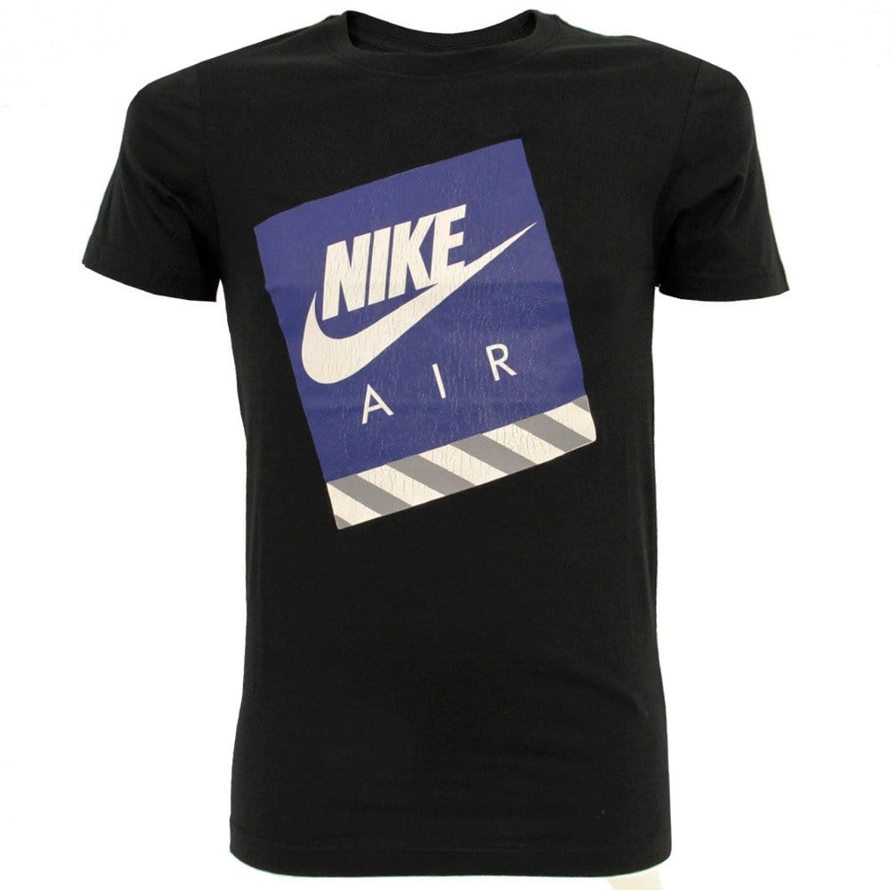 nike running air max black t shirt 524233010. Black Bedroom Furniture Sets. Home Design Ideas