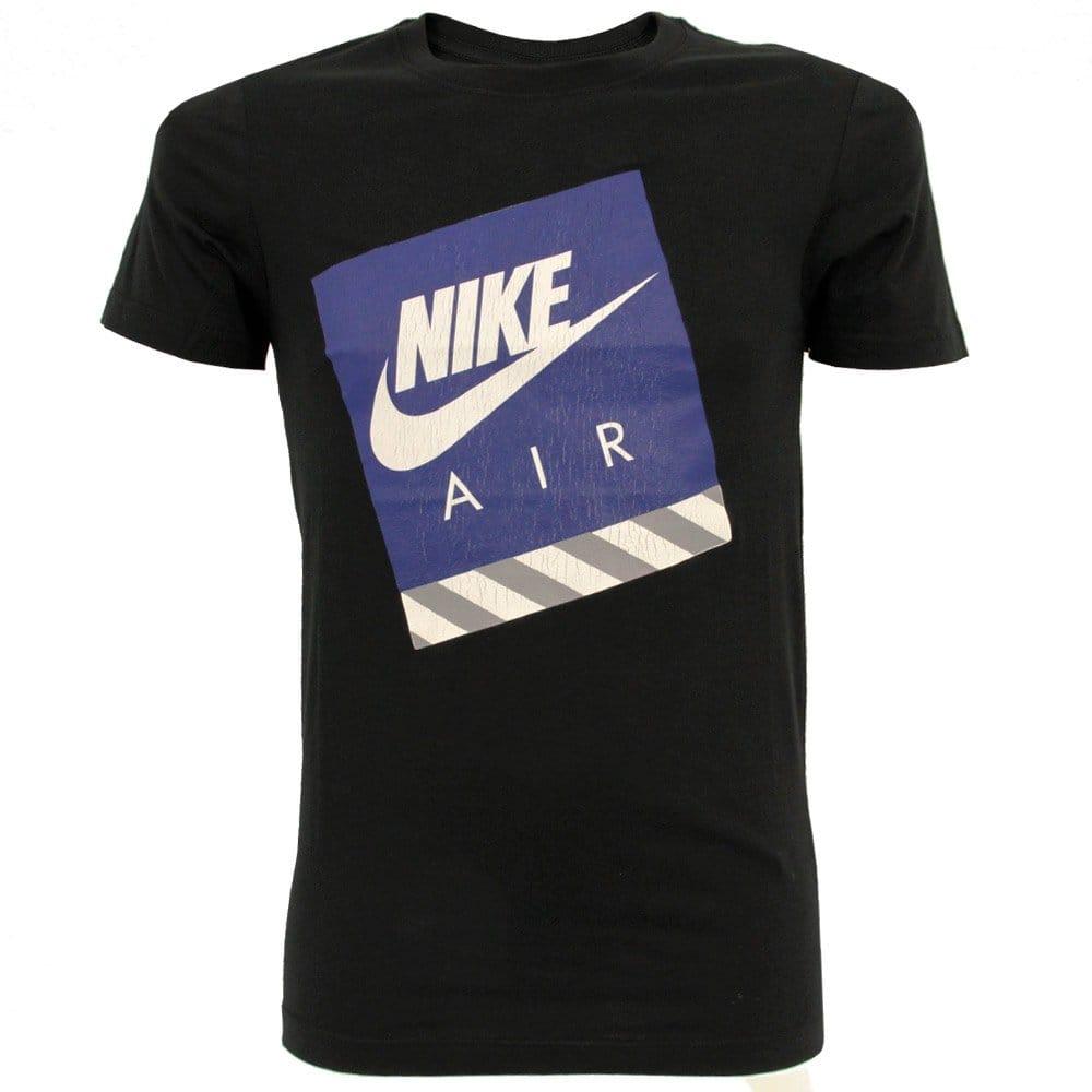 nike running air max black t shirt 524233010. Black Bedroom Furniture Sets. Home Design Ideas