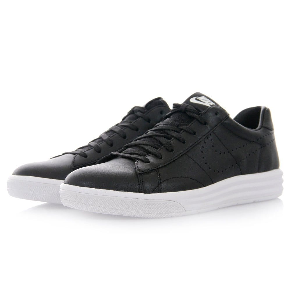 nike tennis classic lunardeluxe black shoes